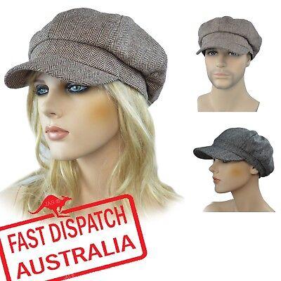 Newsboy Bakerboy Lady Slouch Riding Cotton Soft Brim Sun Head CAP HAT JOCKEY