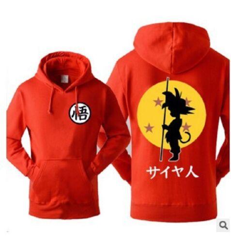 Anime Dragon Ball Super cosplay Casual Son Goku Jacket Sweatshirt Hoodie Coat