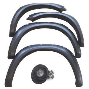 Universel fender roue arches flare extension des fusées éclairantes polyuréthane