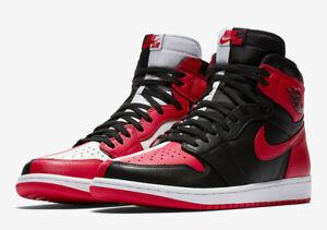 Nike MEN S Air Jordan 1 Retro High OG NRG HOMAGE TO HOME SIZE 10.5 ... d62334415