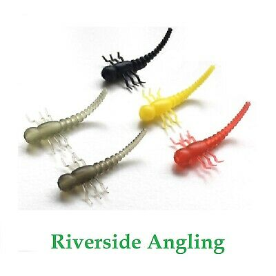 Mayfly Larvae Rig Aligners Insect Bug Hook Kicker Zig Various Colours And Qtys