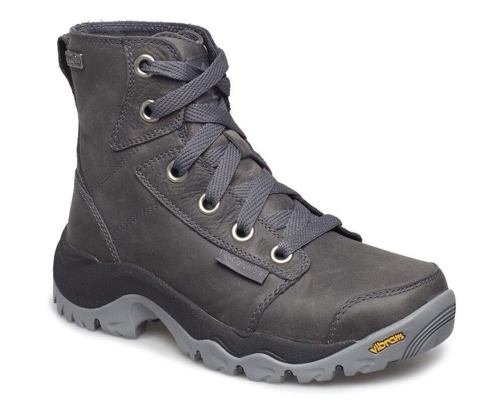 COLUMBIA Camden Leather Chukka 1831621053 Wasserdichte Stiefel Stiefel Damen Neu