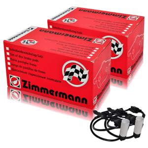 Zimmermann Plaquettes De Freins Avant capteurs arrière bmw x3 e83 3.0sd xDrive 35d 210 kW