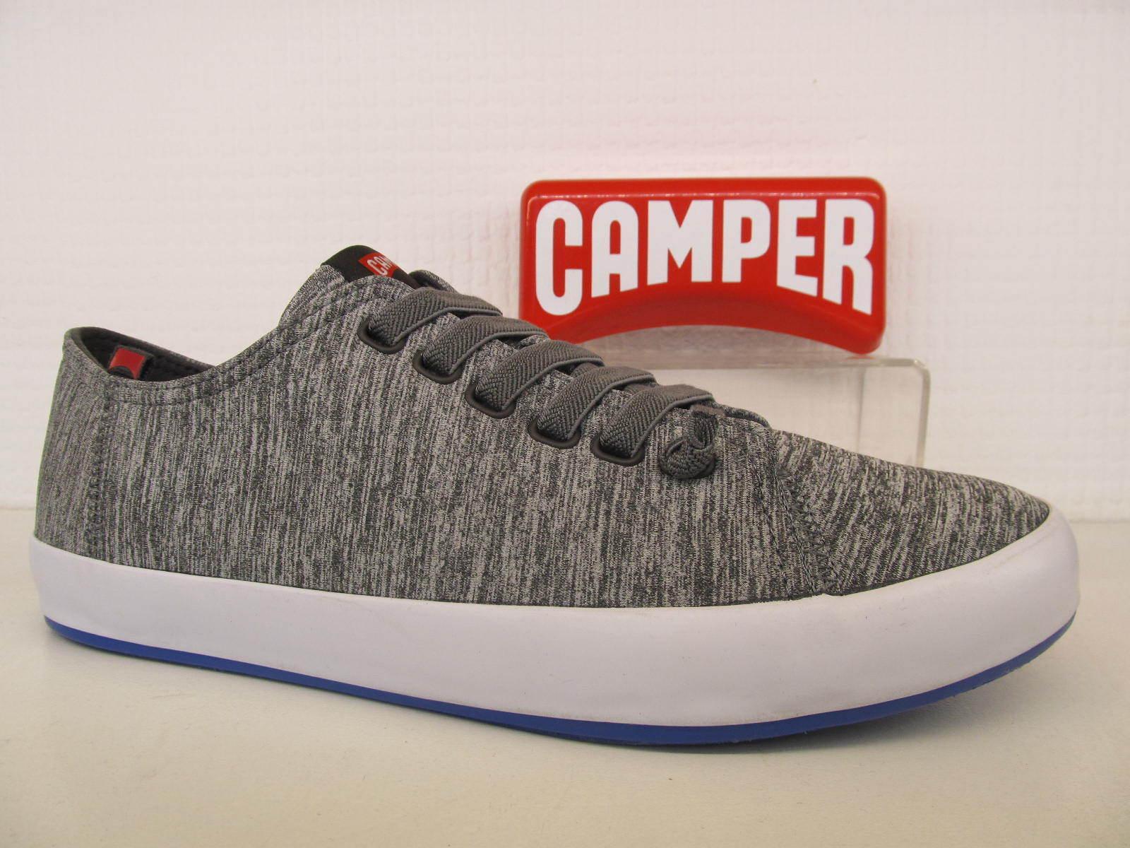 Camper Textile Andratx K100158 - 004 Light Gris Textile Camper Elastic Hombre Trainer zapatos c2e861