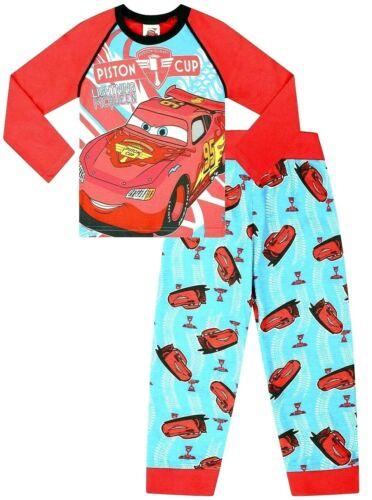 Disney Cars Pyjamas  2 to 7 Years Mcqueen Cars Pyjamas Disney Long Cars PJs w15