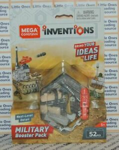 Mega-Construx-Inventions-MILITARY-BOOSTER-PACK-Building-Set-FWP18-52-Pieces
