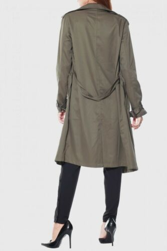 Olive Trench Coat by Rehab