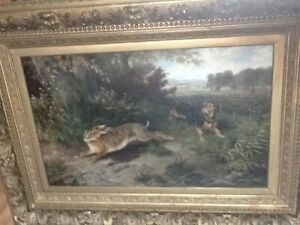 Fine-Art-Oil-Painting-Otto-Grashey-1883-Munich-in-Germany-large-size