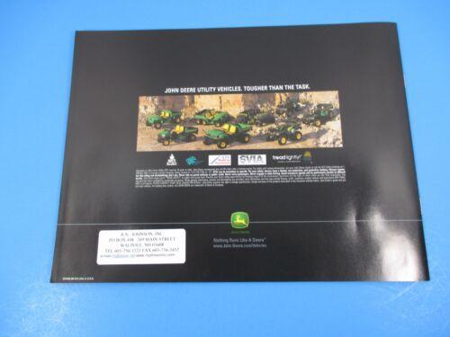 Original John Deere Sales Brochure John Deere Utility ATV/'s /& Accessories M1335