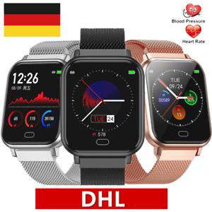 Smartwatch Dame Herren Armband Uhr Blutdruck Fitness..
