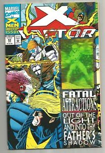 X-factor-92-Fatal-Attraction-PArt-1-Hologram-Cover-printed-1993-1st-appearance