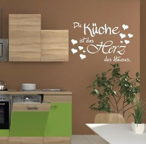 wandtattoo die k che ist das spruch f r wohnzimmer. Black Bedroom Furniture Sets. Home Design Ideas