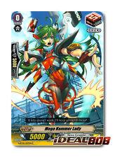 Cardfight Vanguard  x 4 Mega Hammer Lady - G-BT10/097EN - C Mint