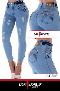 4007 Bon Bon Up Jeans Levanta Cola Jeans Colombianos Butt Lifter Levanta Pompis Ebay