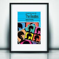 The Beatles Last Concert Poster Print Olivia Valentine 2017© NEW Exclusive