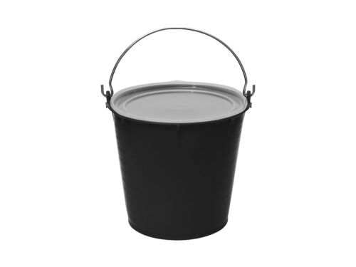 Futtereimer Stalleimer Hofeimer mit Deckel lebensmittelecht 7 Liter