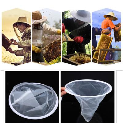 Fiber Bee Beekeeping Honey Strainer Filter Net Screen Apiary Equipment 35*40cm