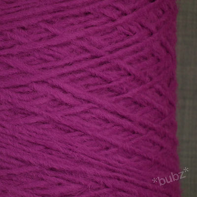 SUPER SOFT ARAN WEIGHT BOUCLE YARN BABY PINK  750g CONE 15 BALLS POODLE KNITTING