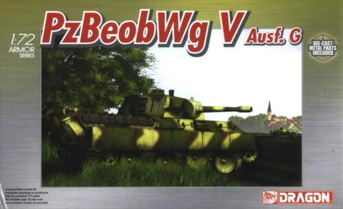 Dragon 1//72 7230 WWII German Pz.Beob.Wg V Ausf G Tank