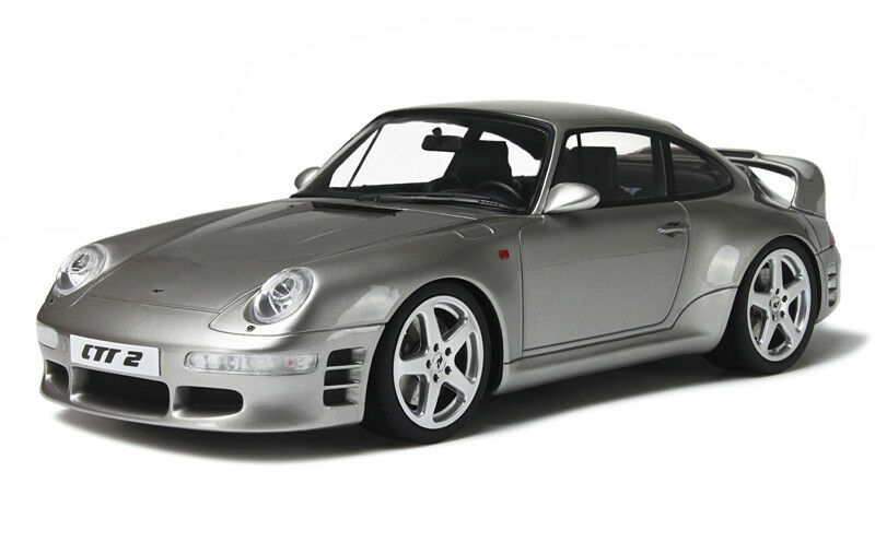 GT SPIRIT 1 18 PORSCHE  911 voitureRERA RUF CTR ARGENT 2 GT080  pas cher