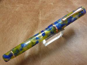Extra Fine Conklin Duraflex Elements Fountain Pen in Water Limited Edition