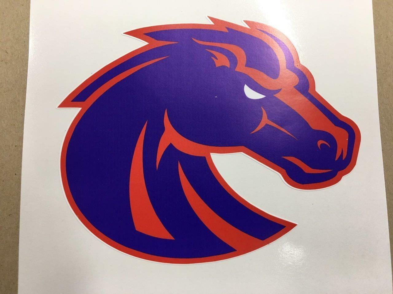 Boise State cornhole board  or vehicle decal(s)BS2  fast shipping and best service