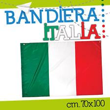 BANDIERA ITALIA 70*100 italiana tricolore nazionale stadio tifo VLRPE900IT-L