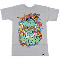Osiris Top Hat S/s Silver Men's T-shirt Sz. S M