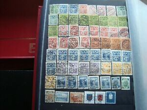 Latvia-62-Cancelled-Stamps-All-State