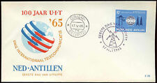 Netherlands Antilles 1965 ITU Centenary FDC First Day Cover #C26588