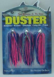 Boone 00130 Dave Workman 1/8 Oz 3 Pk Dusters Blue Pink Mylar 13862