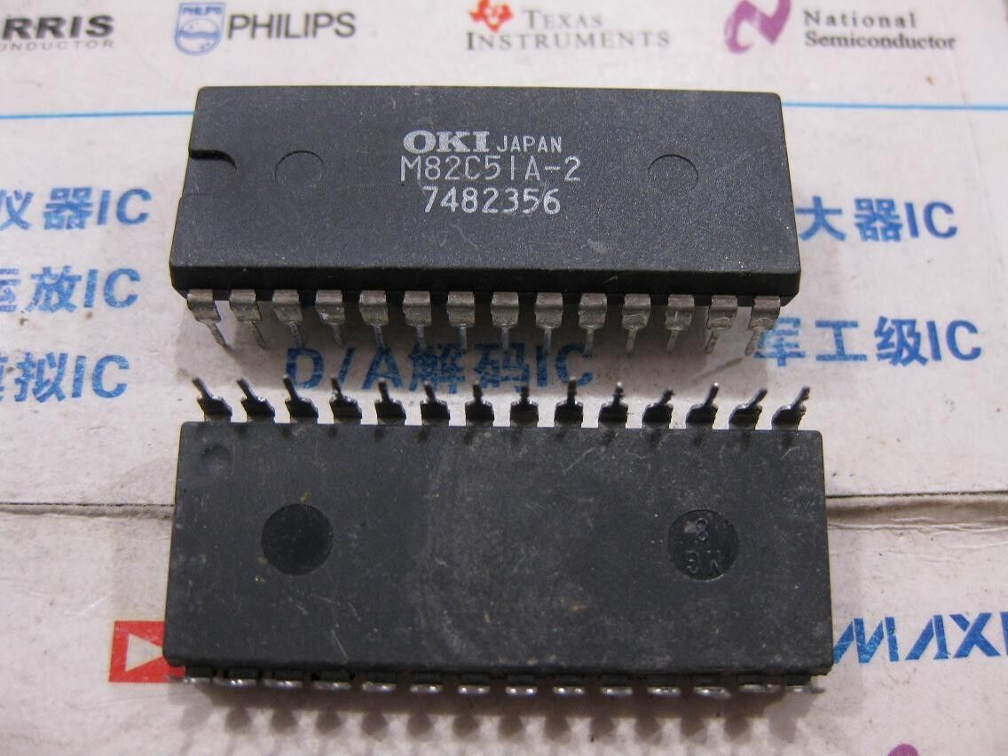 1x CDP1854ACE Programmable Universal Asynchronous Receiver//Transmitter CDP1854A