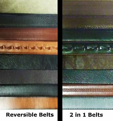 Smith/'s Workwear Men/'s Casual Leather Belts Assorted Styles Colors Size 40 Lot 3