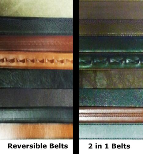 Smith/'s Workwear Leather Reversible Belts  Assorted Styles Colors  Size 44 Lot 3