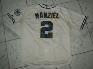 new concept 7211b 82542 Details about JOHNNY MANZIEL SAN DIEGO PADRES JERSEY SIZE 44 MAJESTIC  BASEBALL MLB STITCHED