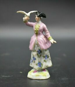 Ludwigsburg-German-Victorian-Woman-Holding-A-Bird-3-1-2-034-Figurine