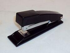 """Desk/Office Stapler ~ Staples Up To 20 Sheets ~ 5 1/2"""" Metal Black Matte Finish"""