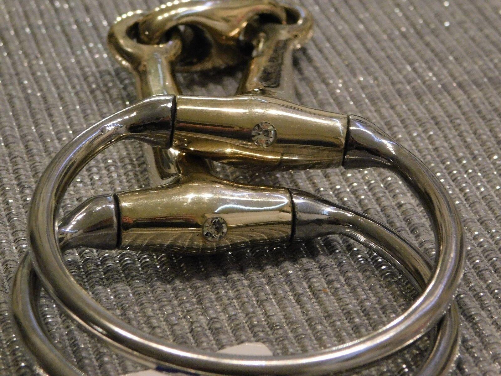 Dentaduras olivenkof sobre tamaño 15,5 16,5 17,5 18,5 pedrería brillo plataan doblemente G