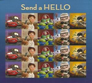 Send-a-Hello-Forever-USPS-Stamp-Sheet-20-Stamps-2011-Toy-Story-Up-Cars-WALL-E-US
