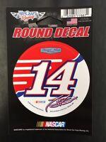 "NASCAR Tony Stewart #14 3"" Round Decal Sticker By Wincraft"