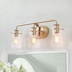 Ksana Gold Bathroom Light Fixtures 3