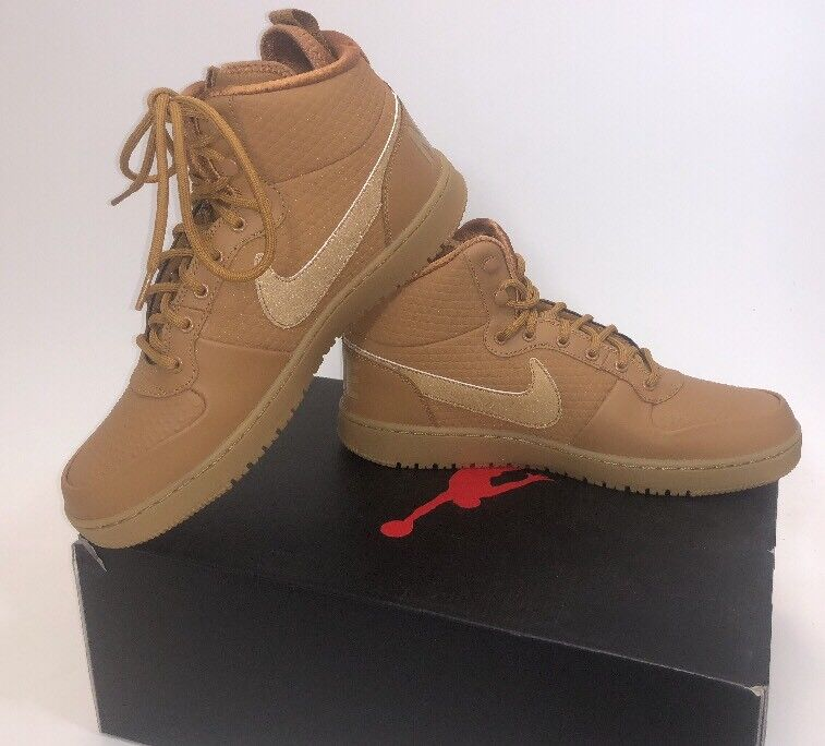 The most popular shoes for men and women Nike Court Borough Mid Winter Wheat AA0547-700 Men's Shoes Comfortable