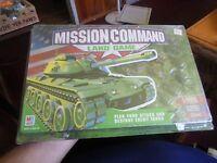 Mission Command: Land Game Brand Sealed Milton Bradley