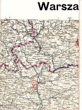 Pułtusk Różan Maków Mazowiecki 1914 orig. Karte /Ln. Nasielsk Krasne Stary Podoś