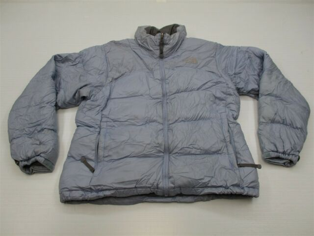 1d37b5de5f THE NORTH FACE Women s Size L 700 Fill Goose Down Light Blue Puffer Jacket