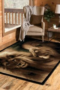 Double-Lion-5x8-area-rug-for-the-home