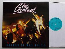 Les GOULUES Autour de mes nuits FRENCH Indie pop ORIG Mini LP ACCORD (1987)