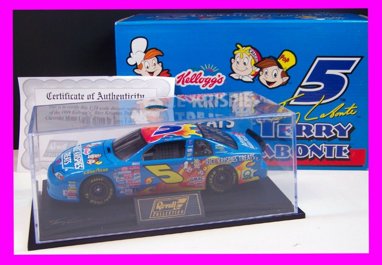 Revell 1 24 Diecast Car KELLOGG'S RICE KRISPIES Terry Labonte RC249916079-2