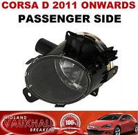 CORSA D FACELIFT FRONT FOG LIGHT SPOT LAMP PASSENGER NEAR SIDE SXI SRI CDTI