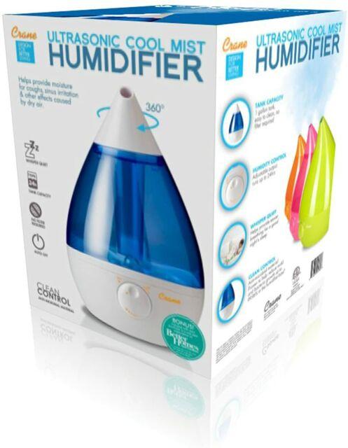 Crane Drop (EE-5301) Ultra Sonic Cool Mist Humidifier ...